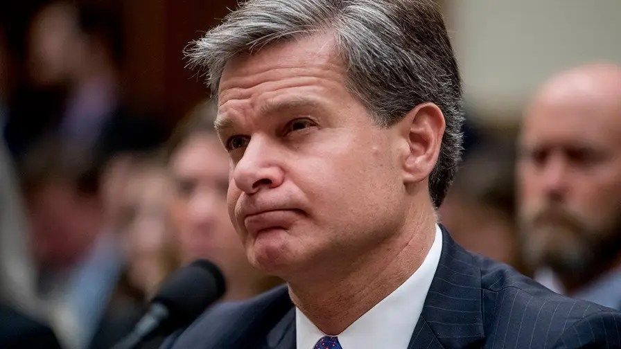 FBI Director Wray gives opening statement to House Judiciary Committee.