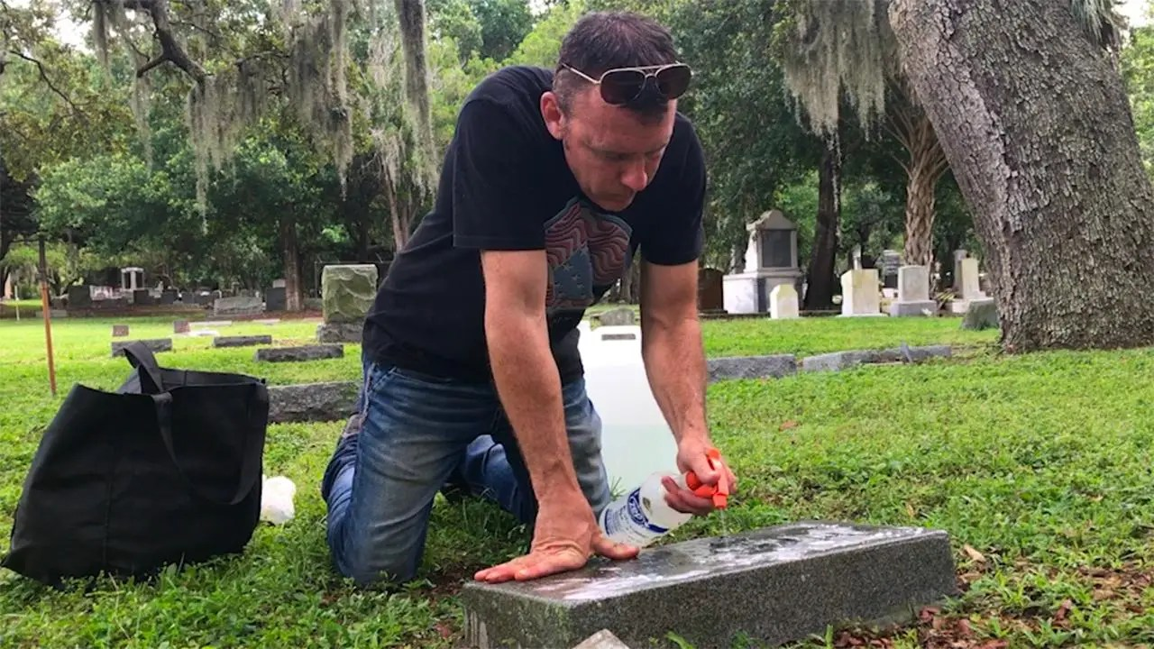 Image result for 'Good Cemeterian' Honors and Celebrates Veterans By Restoring Their Gravestones