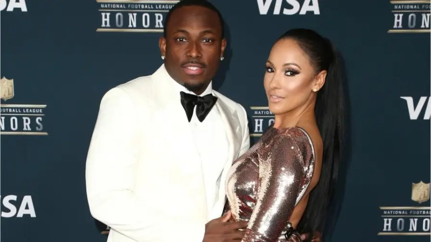 Buffalo Bills star LeSean McCoy is accused of beating his girlfriend, his son, his dog, and for using illegal drugs.