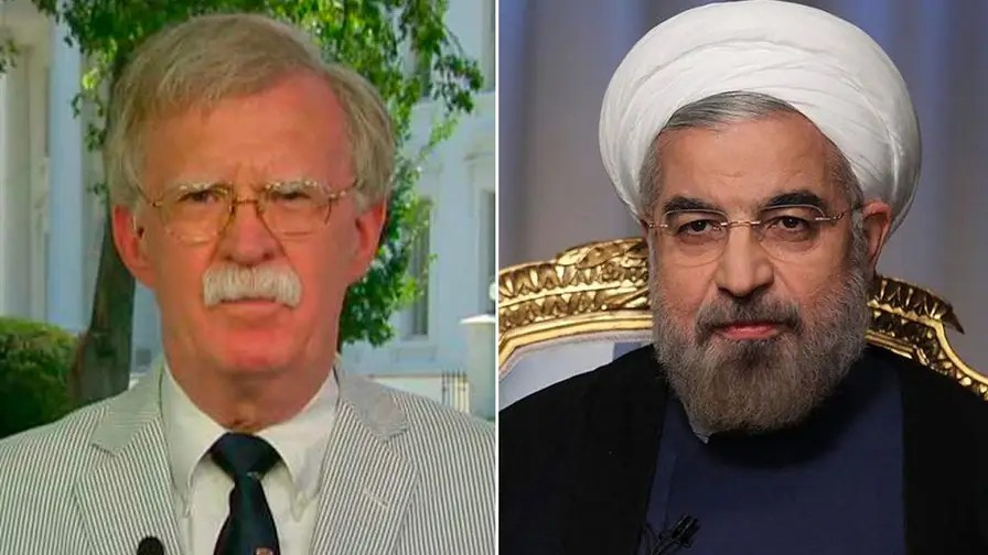 President Trump's national security adviser says the re-imposition of U.S. sanctions on Iran is an indication of how strongly the Trump administration feels that the regime's 'belligerent activity' must end.
