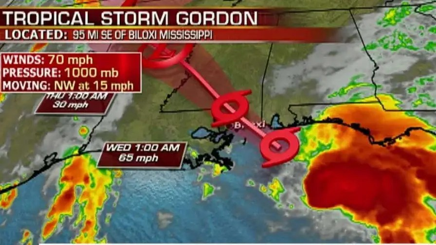 Residents along the Gulf Coast are preparing for high winds, heavy rain and potentially life-threatening storm surge to the region; Jonathan Serrie reports from Gulfport, Mississippi.