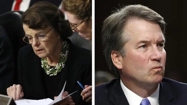 Senator Dianne Feinstein asks the FBI to review letter involving Supreme Court nominee Kavanaugh; reaction on 'The Story' to what the White House is calling a delay tactic.