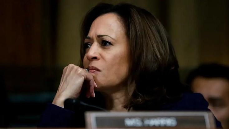 Sen. Kamala Harris compares ICE to Ku Klux Klan