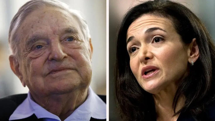 Report: Sandberg asked Facebook employees to research Soros