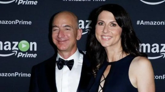 Image result for Amazon boss Jeff Bezos and wife to divorce