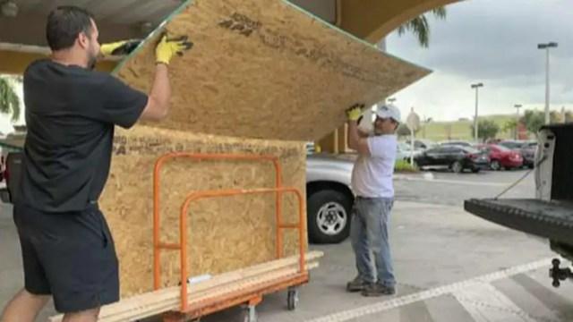 Coastal FL braces for Hurricane Dorian