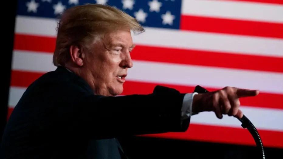 President Trump hosts a Keep America Great rally