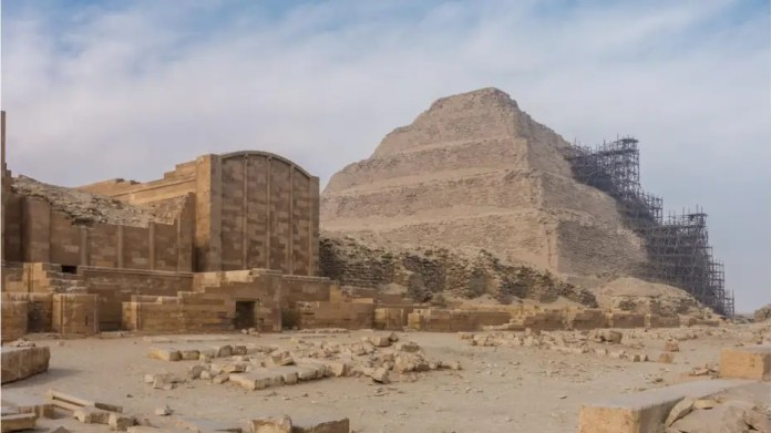 Archaeological team in Egypt found lion mummy at famous pyramid site