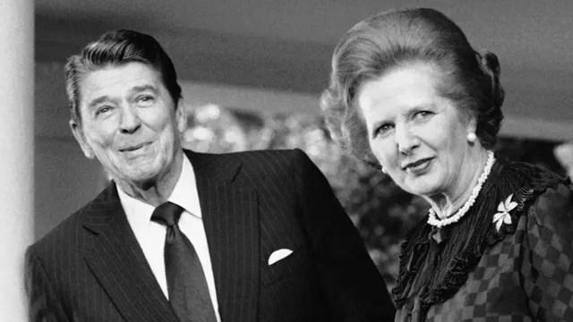 Znalezione obrazy dla zapytania Reagan thatcher