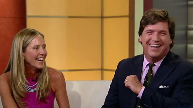 Tucker Carlson and wife Susan Andrews married without ...