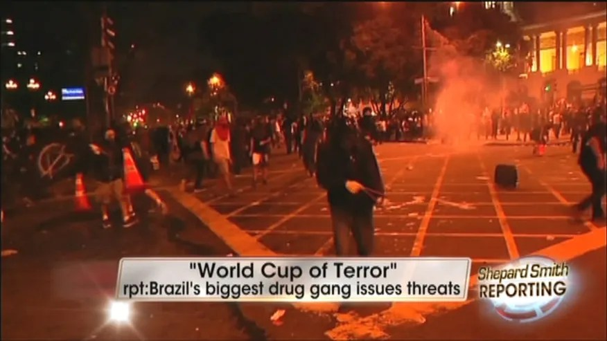 Brazil's Largest Gang Threatens 'World Cup Of Terror ...