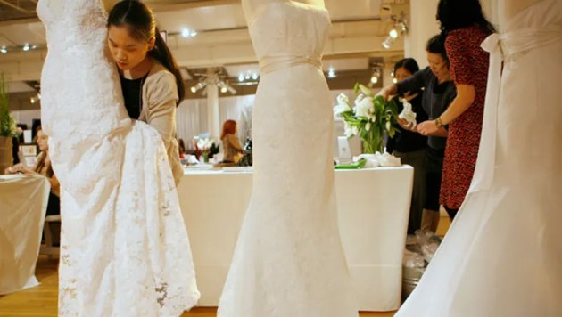 4 Tips to Cut the Cost of Your Wedding Dress   Fox Business Brides