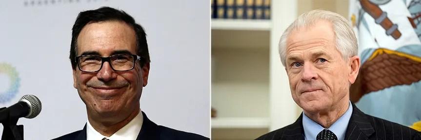 China trade debate roils Trump team: Navarro vs. Mnuchin ...