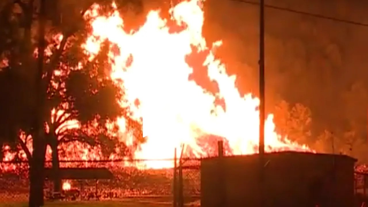 Fire In Kentucky Destroys Jim Beam Warehouse Filled With