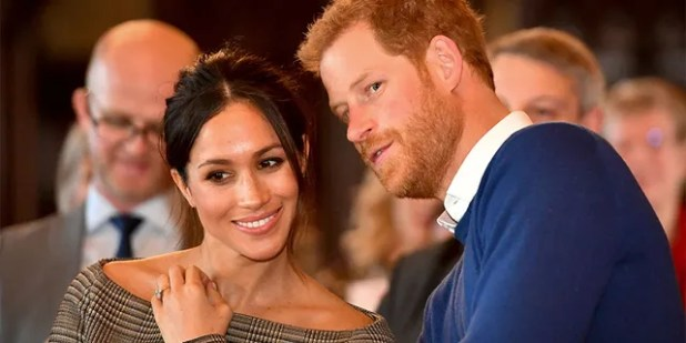 The Duke and Duchess of Sussex had earlier announced that they were taking 'one step' as senior members of the British royal family.