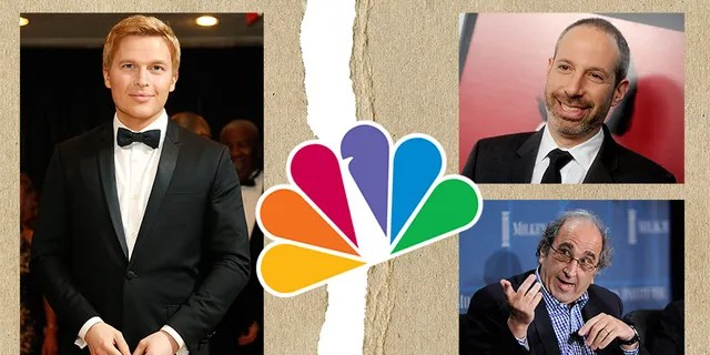 """Ronan Farrow explains why NBC honchos Noah Oppenheim and Andy Lack wouldn't air his Harvey Weinstein reporting in """"Catch and Kill."""""""