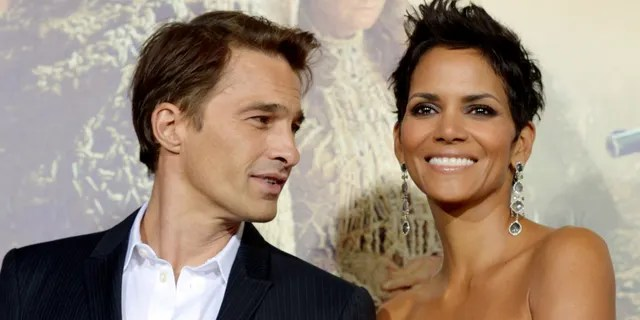 Halle Berry and Olivier Martinez.