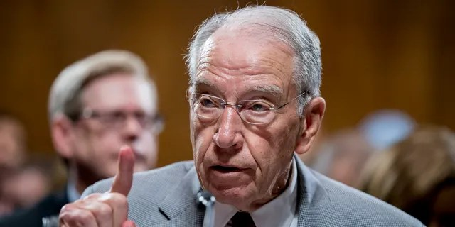 Sen. Chuck Grassley, R-Ao, will be the top Republican on the Senate Judiciary Committee for the next two years.  He indicated that Republican Biden would pressurize Attorney General Nominee Judge Merrick Garland to handle investigations into the case of nursing home deaths by Hunter Biden and the New York government.  Andrew Cuomo.