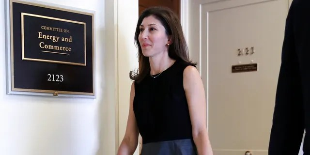 Former FBI lawyer Lisa Page arrives for a closed door interview with the House Judiciary and House Oversight and Government Reform committees, Friday, July 13, 2018, on Capitol Hill in Washington.