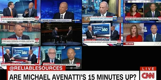 Attorney Michael Avenatti was on CNN 74 times during a 10-week period in 2018.