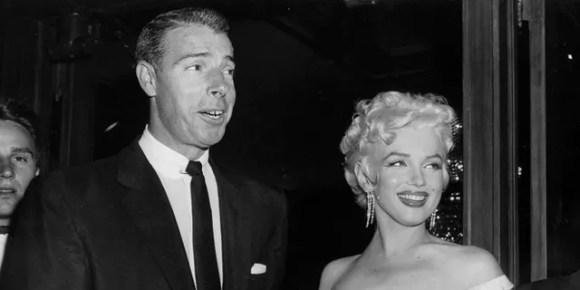 Joe DiMaggio e Marilyn Monroe foram casados de 1954 a 1955.