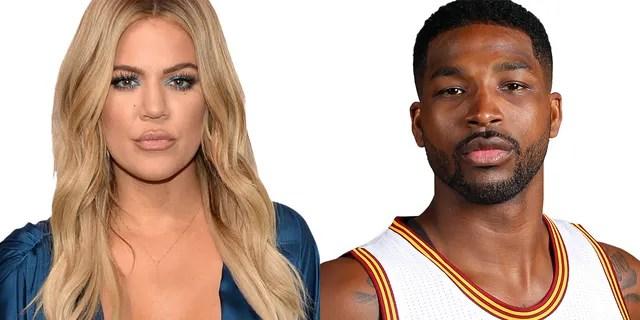 Khloe Kardashian and Tristan Thompson.
