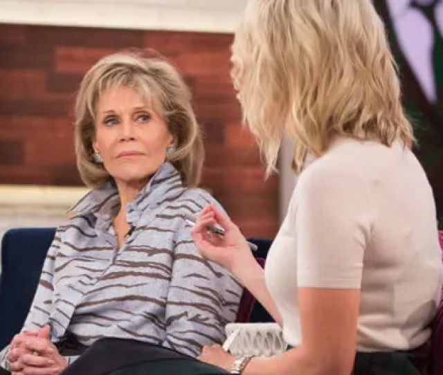 Jane Fonda Left Appeared On Megyn Kellys Right Show To Promote Her
