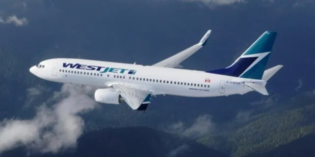 WestJet announced last month that its zero-tolerance facade policy would go into effect on 1 September.  (AP)