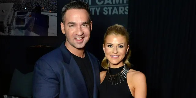 """Mike """"The Situation"""" Sorrentino and Lauren Pesce tied the knot in November 2018"""