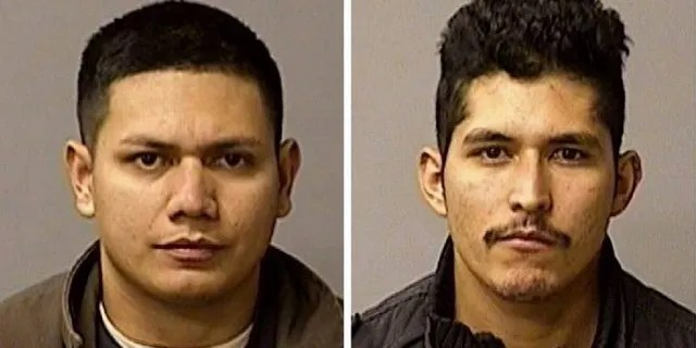 Arriaga's other brother Adrian Virgen (L), 25, and co-worker Erik Razo Quiroz,27 were arrested after officials said they had attempted to mislead investigators in an effort to protect the suspect.