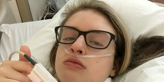 At its worst point, the condition caused Hannah, then 16, to vomit six times a day and run to the toilet with chronic diarrhea up to thirty times.
