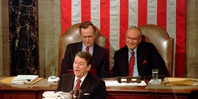 President Ronald Reagan delayed his 1986 State of the Union address due to the Challenger disaster.