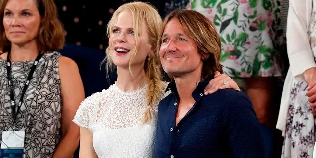 Nicole Kidman and Keith Urban wed in 2006.
