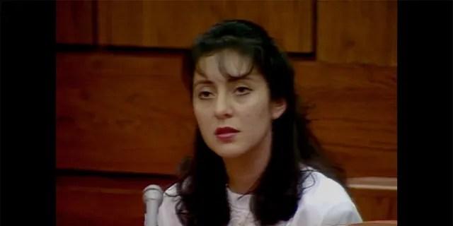 Lorena Bobbitt during her trial.