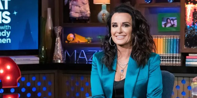 Kyle Richards was hospitalized after an allergic reaction to multiple bee stings.
