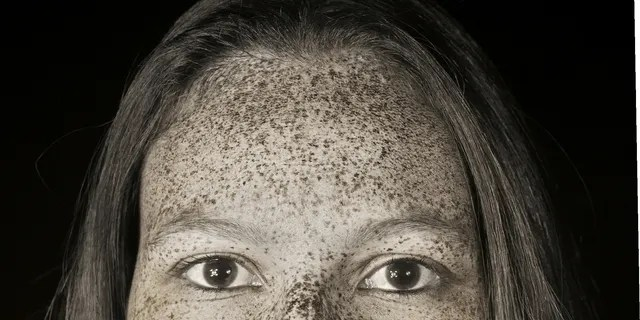The photographer used special equipment to reveal the marks.