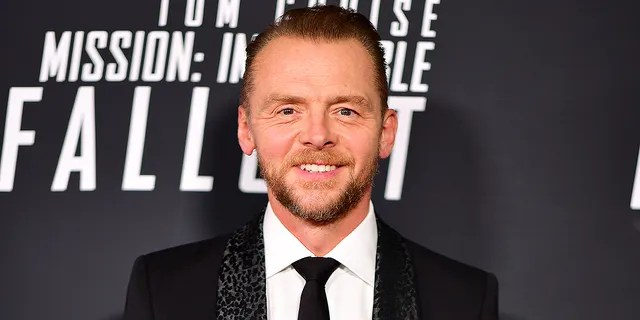 Simon Pegg spoke out in favor of the Black Lives Matter movement.