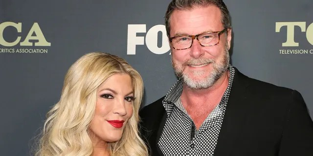 Tori Spelling revealed that she and Dean McDermott are not sleeping in the same room amid rumored marital struggles.