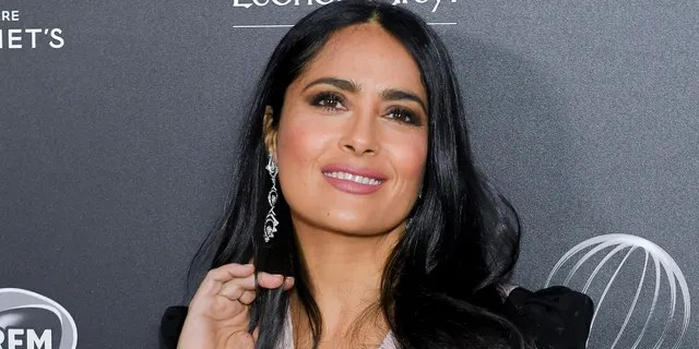 Salma Hayek revealed that her dyslexia made it difficult to learn the title of her new movie, 'The Hitman's Wife's Bodyguard.'