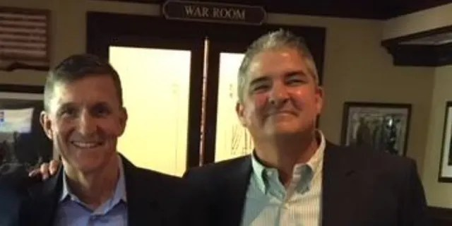 """Joe Flynn, right, said it was an """"absolute surprise"""" to learn that authorities had apparently been investigating his brother, Michael, during the 2016 transition or earlier. (Joe Flynn)"""