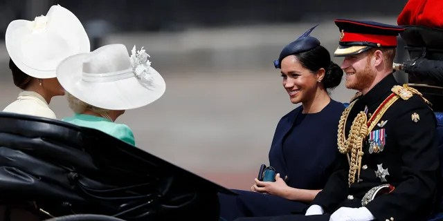 This marks Markle's first public appearance since the birth of her son Archie