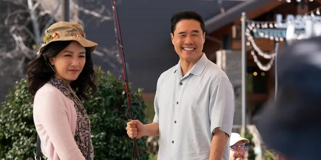 Constance Wu and Randall Park in an episode of 'Fresh Off the Boat.' (ABC/Mitch Haaseth)