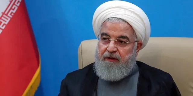 Iran's President Hassan Rouhani. (Iranian Presidency Office via AP)
