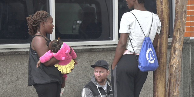 The city says it will continue to work with Travis Park Church, Catholic Charities, and other non-profit organizations to find long-term resources for these migrants.