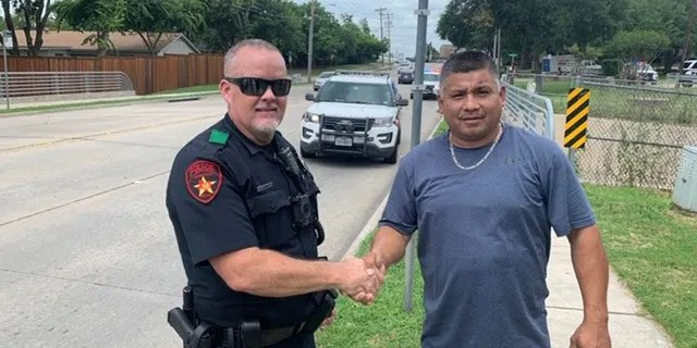 Michael Barrera, a former rugby player, helped tackle a suspect during a foot pursuit on June 22.