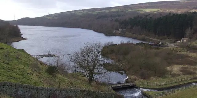 Valehouse Reservoir in the Derbyshire Peak District, where a British mother ended her and her son's life last year.