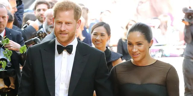"""Prince Harry, Duke of Sussex and Meghan Markle, Duchess of Sussex attend """"The Lion King"""" European Premiere at Leicester Square on July 14, 2019, in London. The couple's penchant for private flights has come under fire for its contrast to their environmental consciousness."""