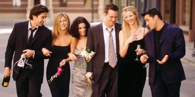 """Cast members of NBC's comedy series """"Friends"""" still make a lot of money from reruns of the show."""