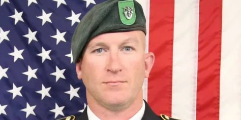 """Green Beret James """"Ryan"""" Sartor, 40 was on his seventh tour of combat when he was killed in action in Afghanistan on Saturday"""