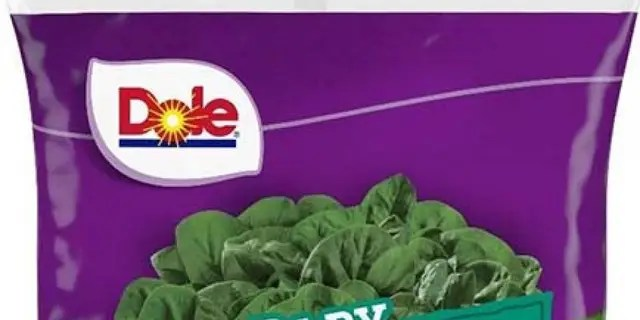 One of the products affected by the Dole recall.